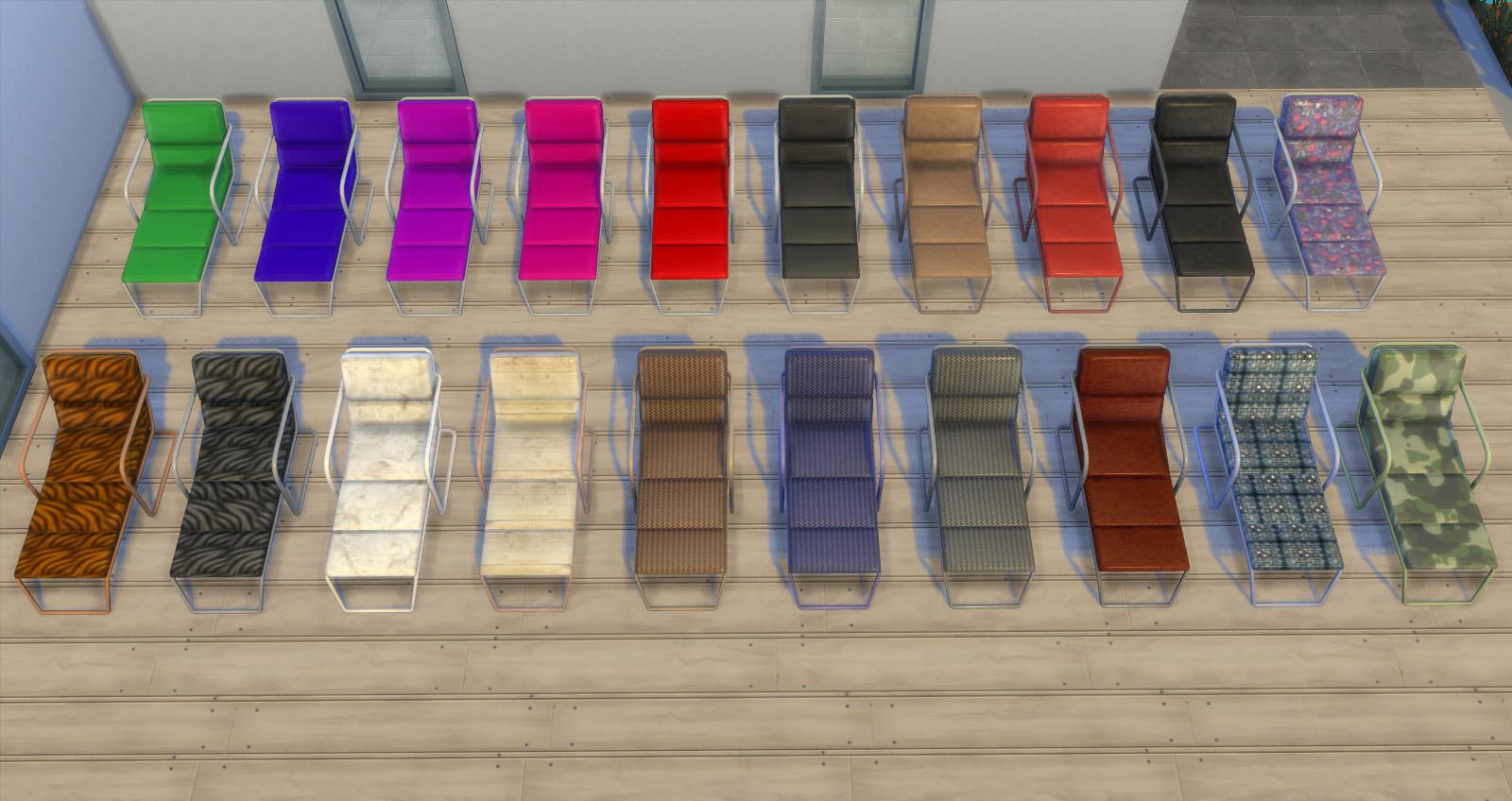 My Sims 4 Blog Functional Lounge Chair By Esmeralda