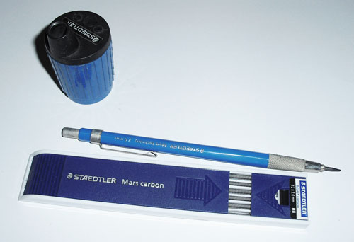 Lead Holder Merek Staedtler Mm Pensil Lead Dan Penyerut Khusus Lead Holder