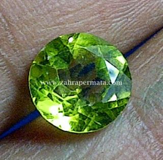 Batu Permata Peridot - ZP 373