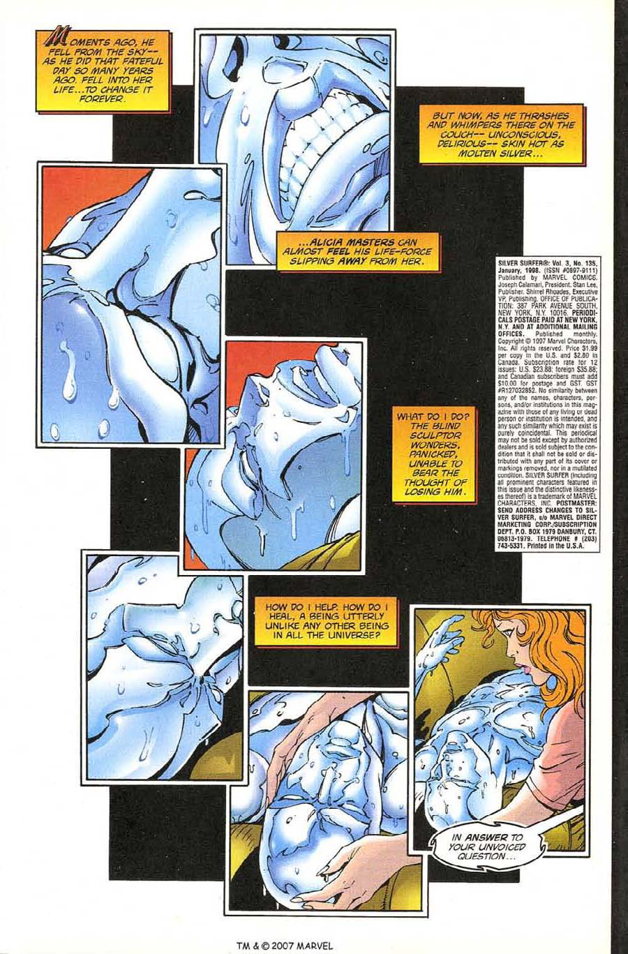 Read online Silver Surfer (1987) comic -  Issue #135 - 5