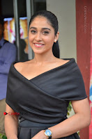 Actress Regina Candra Pos in Beautiful Black Short Dress at Saravanan Irukka Bayamaen Tamil Movie Press Meet  0012.jpg