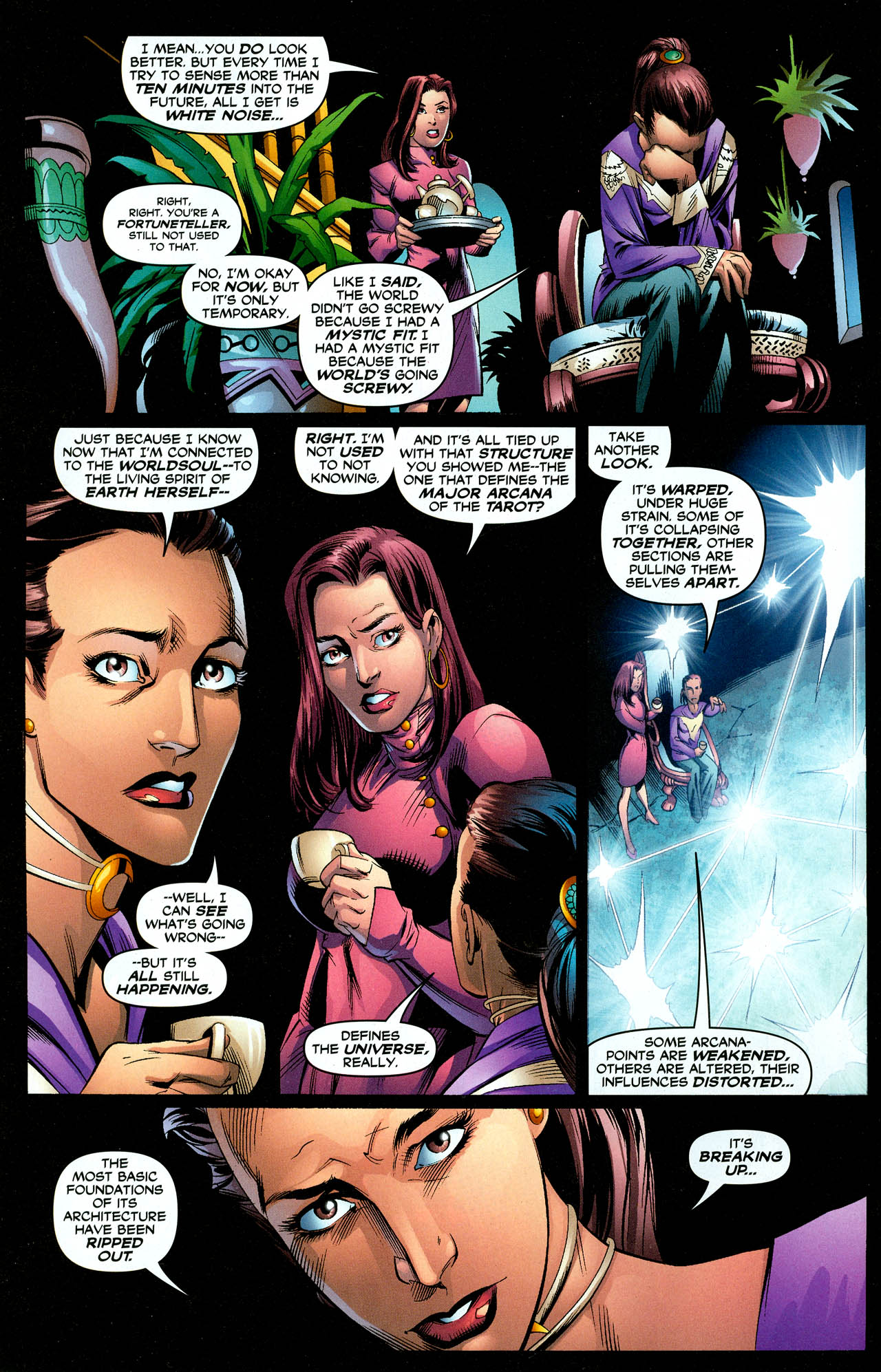 Read online Trinity (2008) comic -  Issue #27 - 4