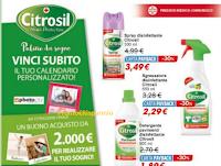 Logo Premio sicuro con Citrosil e vinci 2.000 euro per realizzare un sogno