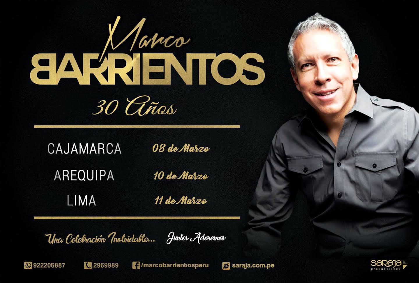 Marco Barrientos regresa al Perú por sus 30 años - Kodigo7.com