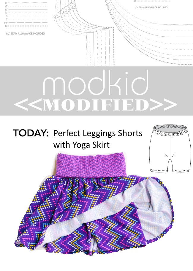Modkid Modified // Perfect Leggings with Yoga Skirt