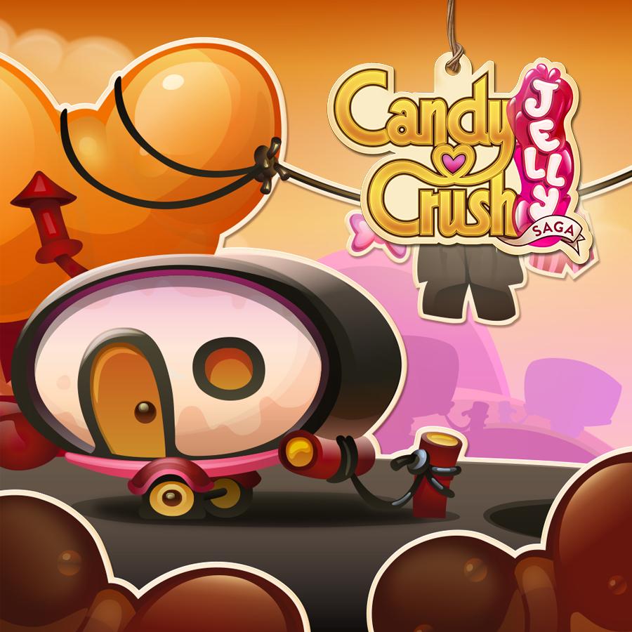 Candy Crush Jelly Saga Saga 381-400