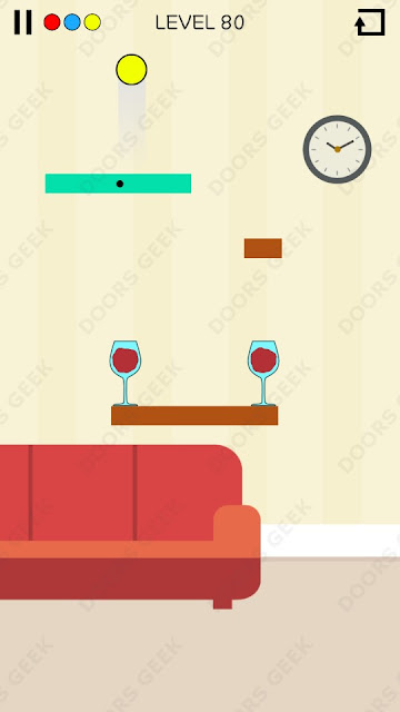 Spill It! Level 80 Walkthrough, Solution, Cheats for Android, iPhone, iPad and iPod