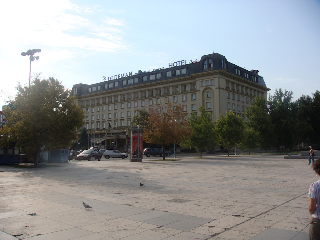 Plovdiv merkezdeki Dedeman otel