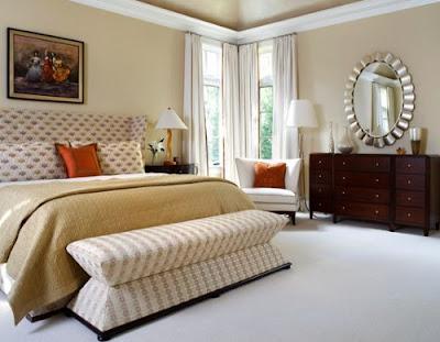 Уютная и комфортная спальня