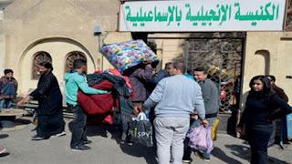 أسقف شمال سيناء يكشف حقيقة محاصرة الأقباط بالعريش