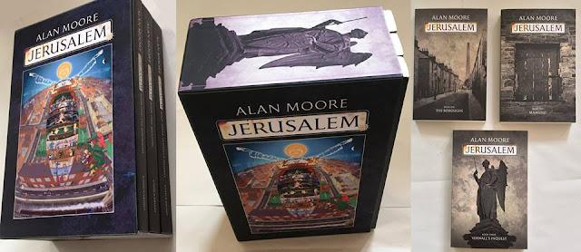 Contemple a edição em 3 volumes de Jerusalém
