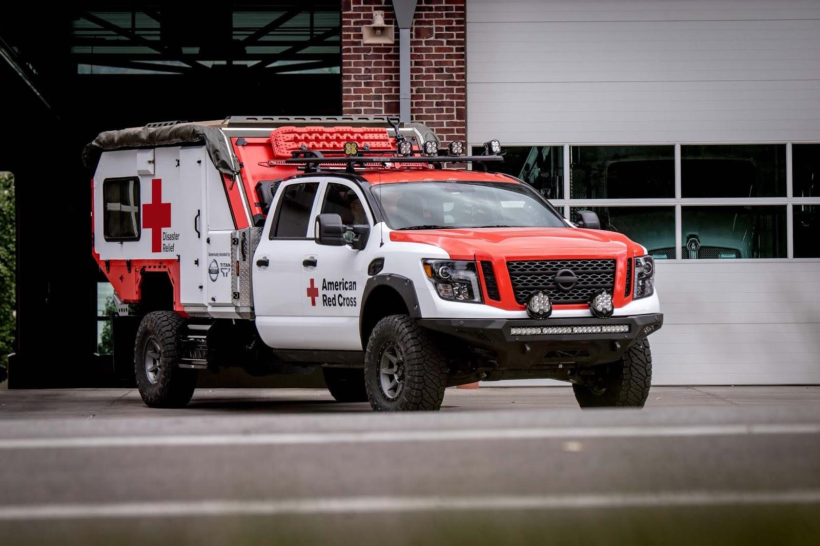 Η Nissan και ο Αμερικανικός Ερυθρός Σταυρός, ρίχνουν  στην μάχη το απόλυτο TITAN