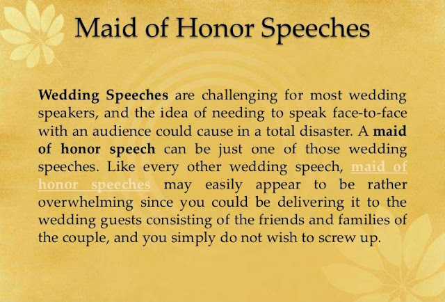 Short Wedding Speeches