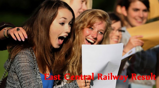 East Central Railway Result
