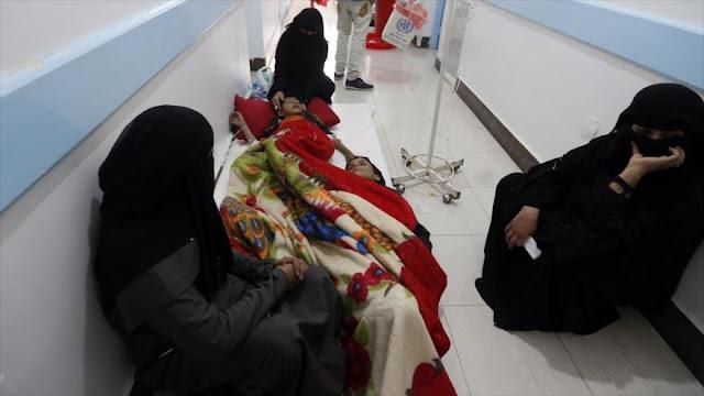 Niños yemeníes, víctimas del cólera como efecto de la guerra saudí