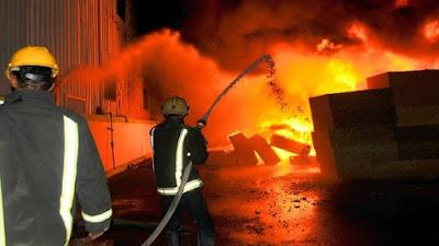 الحماية المدنية تسيطر علي حريق بالمرج