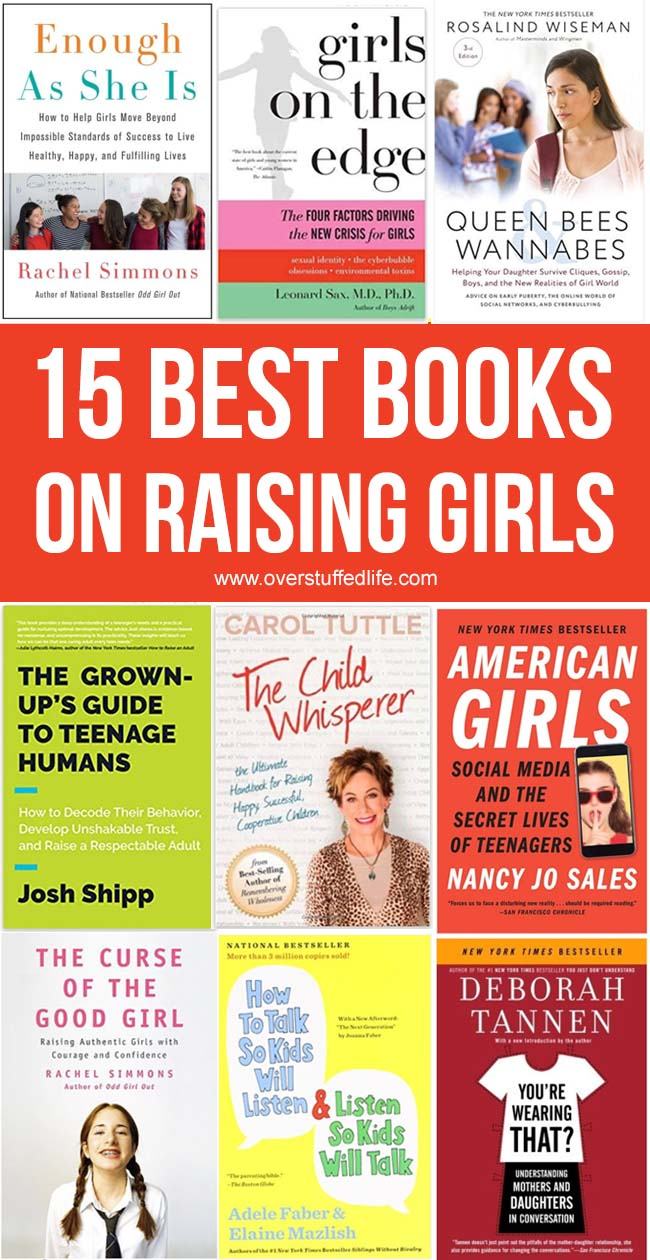 15 Best Books on Raising Girls