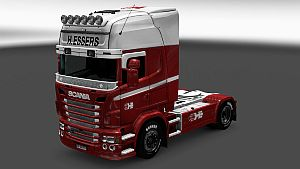H. Essers pack skins for all trucks SCS + Scania RJL