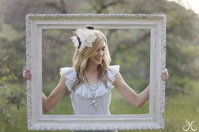 10 creative ways to add frames to your wedding belle the magazine im loving this modern and this vintage frame displays junglespirit Choice Image