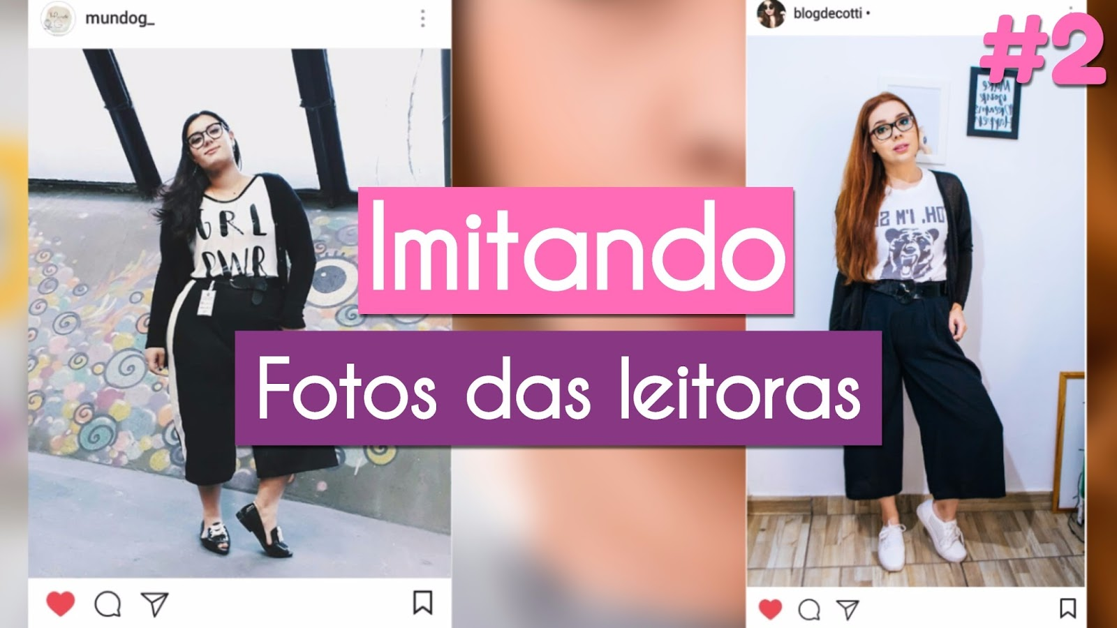 Imitando Fotos Tumblr das Leitoras - Recriando fotos de Inscritos | Parte 2#