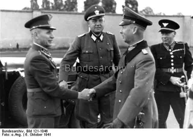 Berlin and Slovak police officers meet in Berlin, 6 October 1941 worldwartwo.filminspector.com