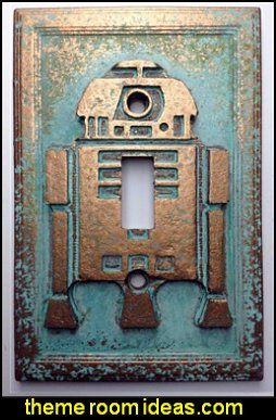 Star Wars  R2D2  Light Switch Cover