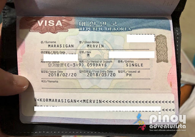 How to Apply for a SOUTH KOREA VISA List of Requirements 2019 Philippines travel blog