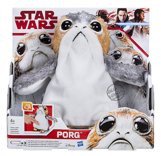 Hasbro Star Wars The Last Jedi Porg Plush Electronic Doll