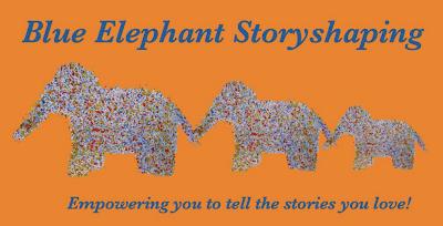 Blue Elephant Storyshaing