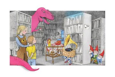 Ejemplo de ilustración de Los imaginarios (páginas 94 y 95)