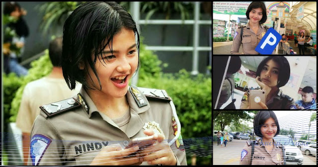Foto-foto Bripda Nindy Bikin Netizen Gagal Fokus