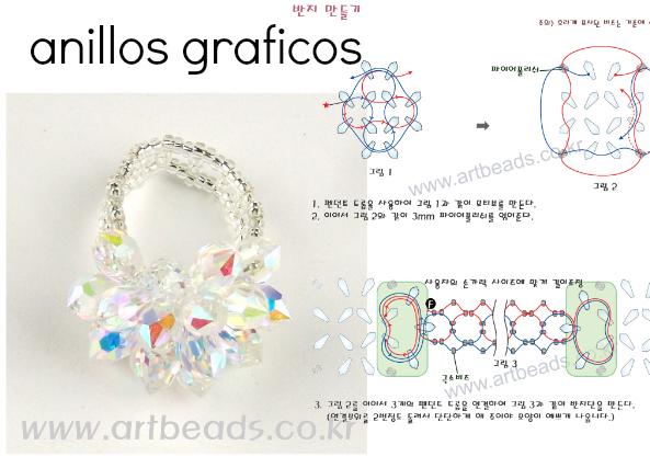 Graficos tutoriales para bisuteria con abalorios