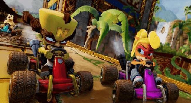 تحميل لعبة كراش Crash Team Racing