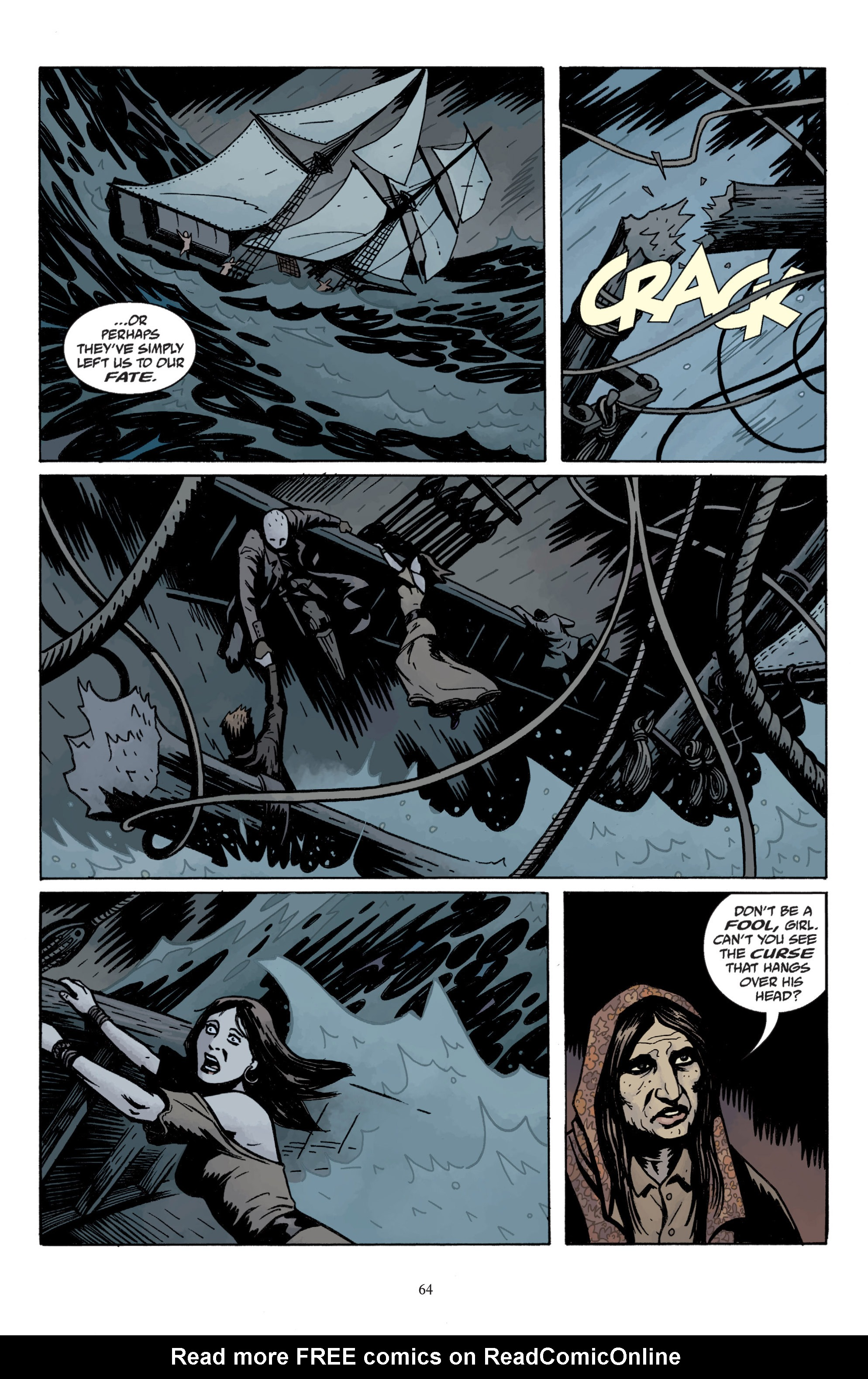 Read online Baltimore: The Plague Ships comic -  Issue # TPB - 66