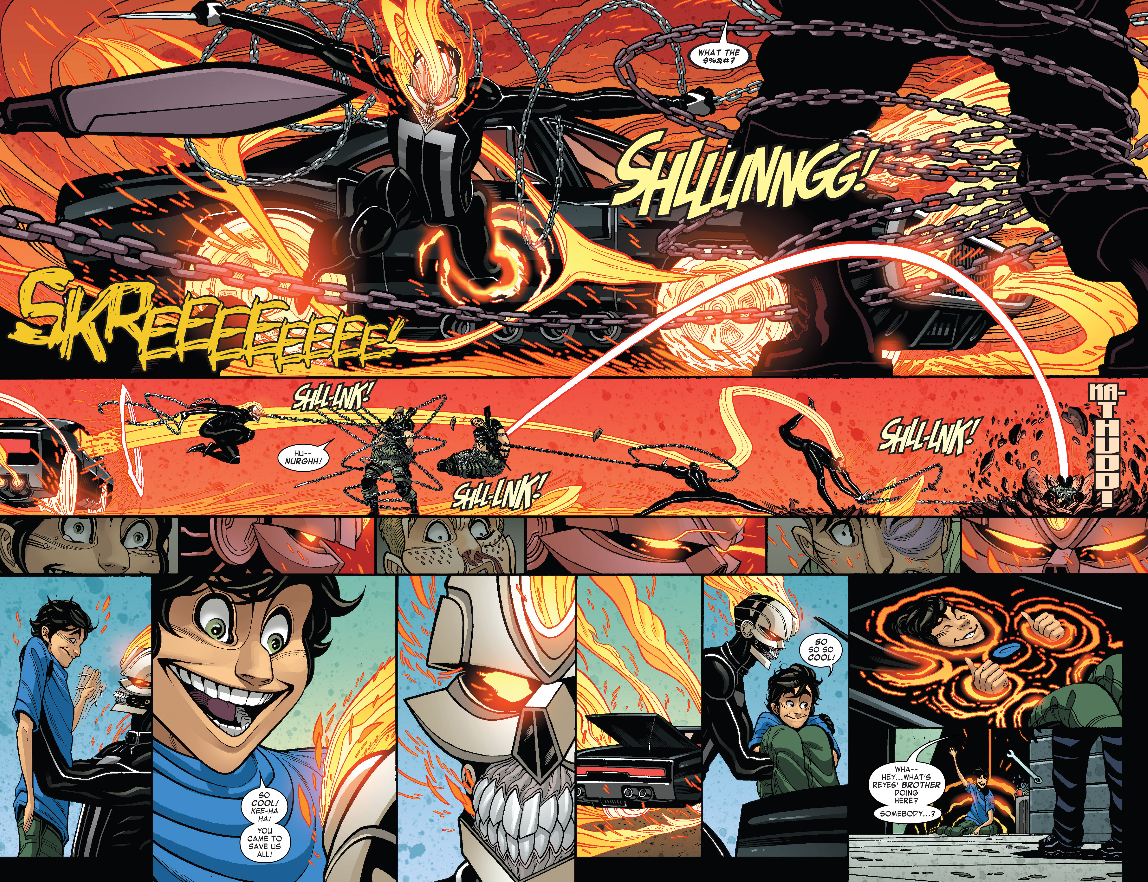 Read online All-New Ghost Rider comic -  Issue #5 - 13
