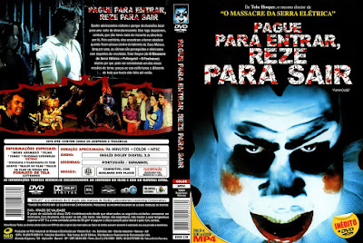 Filme Pague Para Entrar, Reze Para Sair (The Funhouse) DVD Capa
