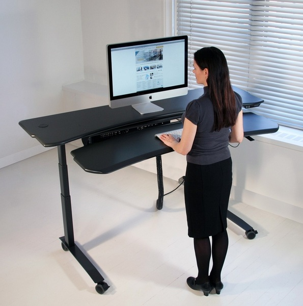 standing desk height for 6 foot person