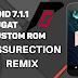 Ressurection Remix 5.8 (Android 7.1.1) Moto G 4° geração
