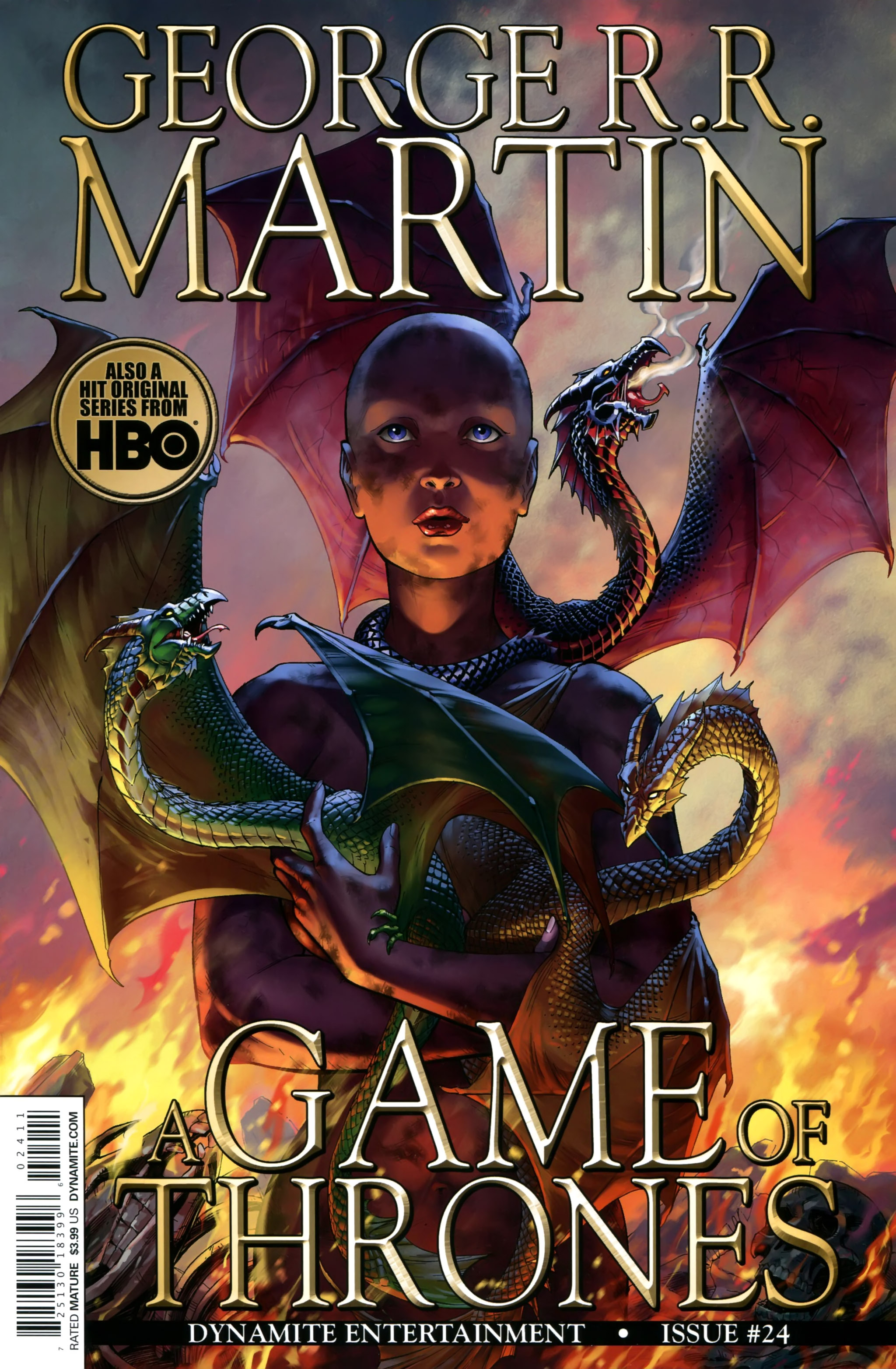 Read online A Game Of Thrones comic -  Issue #24 - 1