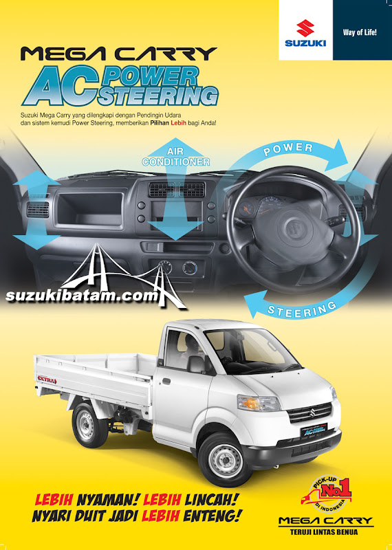Mega Carry AC Power Steering