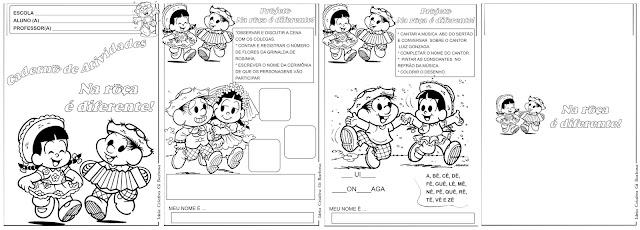 Caderno de Atividades Na Roça é Diferente - Periodo Junino