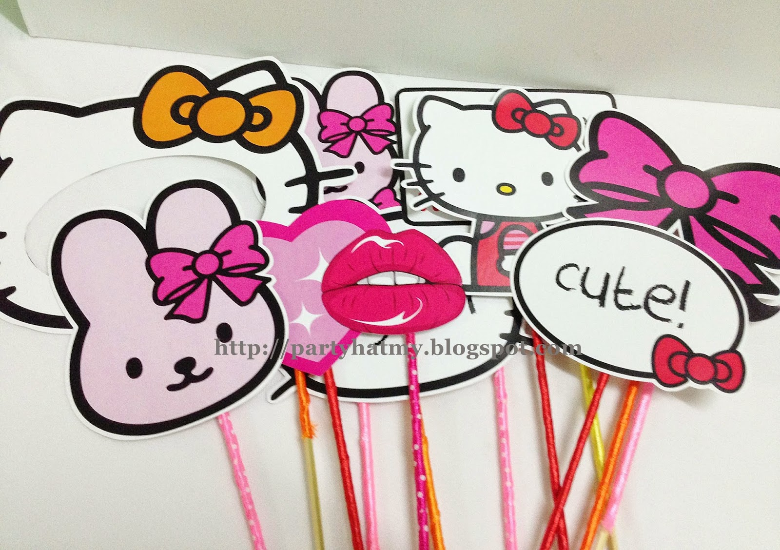 Party Hat Malaysia Candy Buffet Theme Decorations Goodie Bags