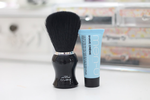 father's day gift guide men-u pro black shaving brush