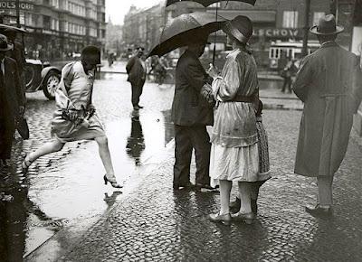 Rain in Berlin - 1927