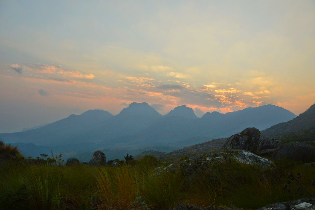 mount mulanje trekking last day sunrise morning