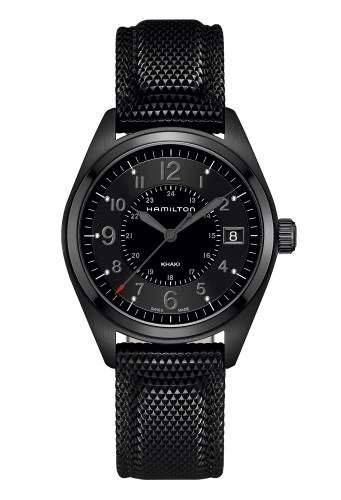 Hamilton Khaki Field Quartz Full Black