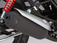 Honda CB110: Exhosto