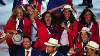 Rio 2016 - Uniformes España
