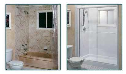 Sostituire la vasca con una doccia paga il giusto prezzo moira tips - Come sostituire una vasca da bagno ...
