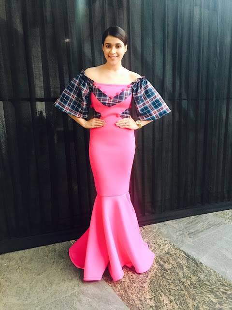 Mannara Chopra at Asian Designer Week 2016